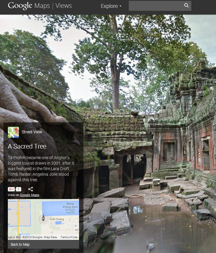Sacred Tree, Ta Prohm Temple