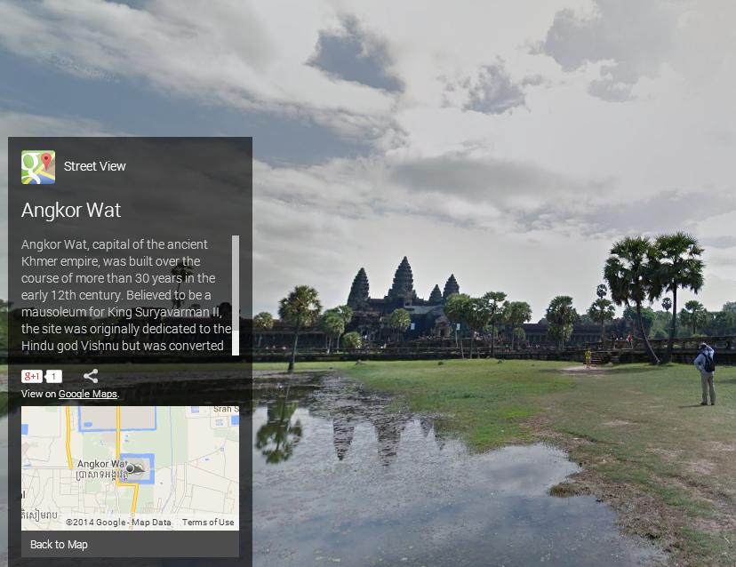 Angkor Wat, Front View