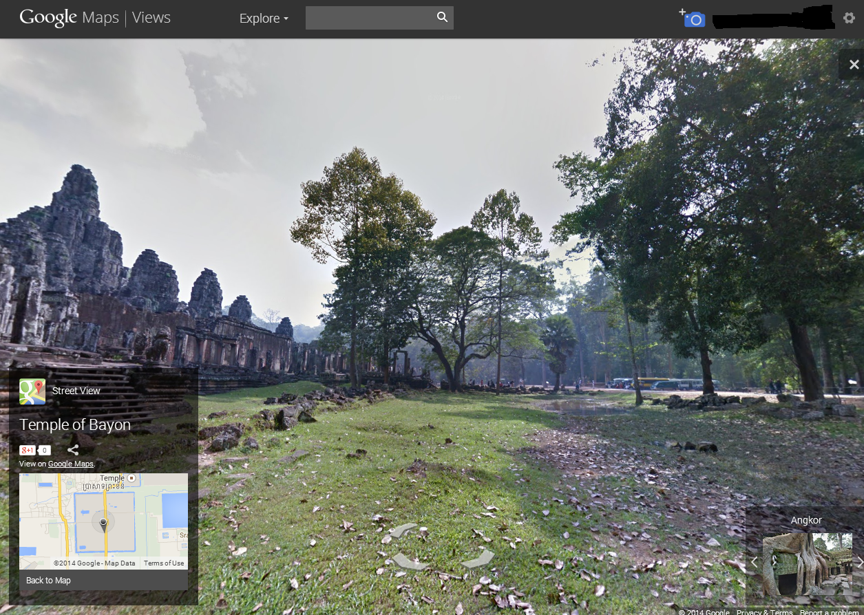 Bayon Temple's Compound